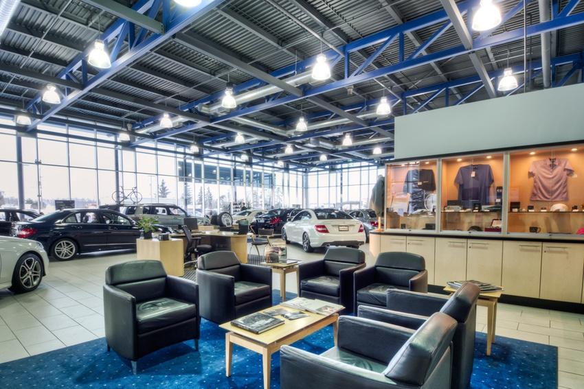 Interiors for Loan star motors 2